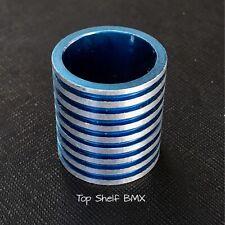 """HARO 1"""" BLUE BMX STEM FLEX FIGHTER 21.1MM SPACER master gt performer redline elf"""