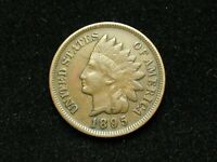 SUMMER SALE!! VF-XF 1895 INDIAN HEAD CENT PENNY w/DIAMONDS & FULL LIBERTY #41x