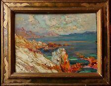 Paul-Pierre Emiot (1887, ?), Les calanques de Cassis, années 50, HSP