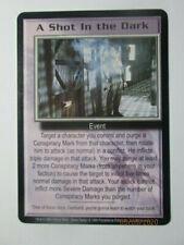 1999 Babylon 5 Ccg - Severed Dreams - Rar 00004000 E Card - A Shot In The Dark