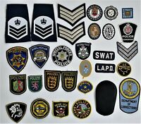 Nice   lot of  30  police patches ,Different countries .