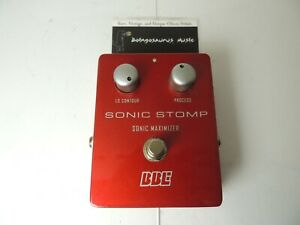 BBE Sonic Stomp Sonic Maximizer Aural Enhancer Effects Pedal NO LED