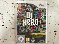 Dj Hero Wii Nintendo Pal Espagnol Français Italien Allemand 93 Originale Mixes Y