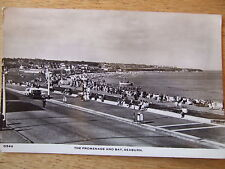 Seaburn The Promenade &  Bay,  nr Sunderland  &  Washington, Real Photo Postcard