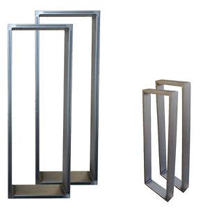 Tischgestell Tischfuß Stehtisch Tischbeine Stahl Metall Eisen Industrie