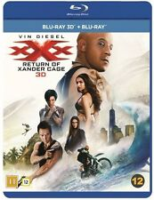 xXx Return of Xander Cage 3D + 2D Blu Ray (Region Free)