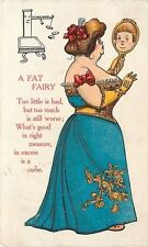 Fantasy~A Fat Fairy~Image In Mirror~Nervous Weight Scale Runs~Excess Is A Curse