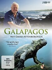 DAVID ATTENBOROUGH (PRESENTER) - GALAPAGOS 2 DVD NEU