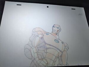 Marvel animation cels Production Art Comics ULTIMATE AVENGERS movie IRON MAN