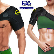 Shoulder Brace Rotator Cuff Pain Relief Support Therapy Belt Sleeve Men Women IA