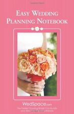 Easy Wedding Planning Notebook by Lluch, Alex A. Book The Fast Free Shipping