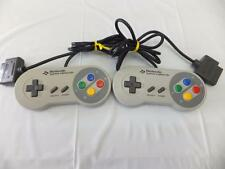 SNES SFC SUPER FAMICOM OFFICIAL CONTROLLER SHVC-005 2set Tested OK -9