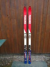 """New listing Vintage 68"""" Snow Skis Has Red White Blue Finish Great Decoration"""