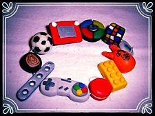 **~ Boyz Toyz bracelet ~ handmade retro fimo bead cute ~**