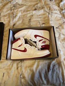 Nike Air Jordan 1 Metallic Red