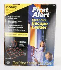 First Alert 2 Story Steel Fire Escape Ladder Model EL50