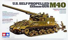 Tamiya 35351 US Self-Propelled 155mm Gun M40 1/35 scale kit
