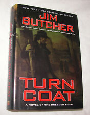 Dresden Files: Turn Coat 11 by Jim Butcher 2009 Hardcover w/ Dust Jacket GD