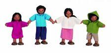 Plan Toys Wooden Doll Family - Hispanic