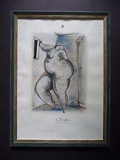 Christian Peschke - Kreide auf Papier - handsigniert