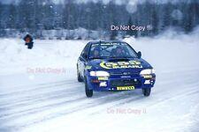 Kenneth ERIKSSON SUBARU IMPREZA 555 RALLY svedese fotografia 1996