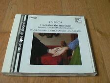 Bach : Cantates de Mariage, Wedding Cantatas - Zadori, Nemeth - CD HM 1994