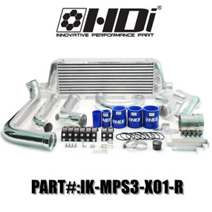Hybrid FMIC Turbo Intercooler Kit MazdaSpeed 3 DISI Front Mount Intercooler Kit