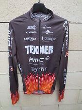 Maillot cycliste TEXNER BMC Team VTT Swiss cycling trikot shirt manches longues