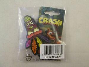 Crash Bandicoot Aku Aku Keychain NEW - N-Sane Trilogy Promo Pre-Order Key ring