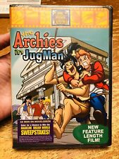 The Archies in JugMan (DVD, 2003) BRAND NEW and Sealed by DIC Animation
