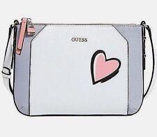 Guess Devyn Top Zip Crossbody Handbag Purse Bag Multi Color Small BNWT