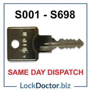 OJMAR Keys S001-S698 Filing Cabinets & Desks Cut To Code *FREE 48HR TRACKED POST