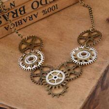 Choker Men Machinery Jewelry Pendant Vintage Machinery Gear Gear Necklace