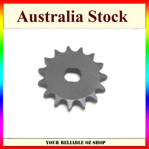 T8F 15T Tooth Chain Sprocket For Pinion Gear MY1020 1000w Electric Scooter Motor