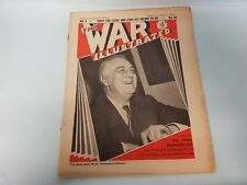 The War Illustrated No. 82 Vol 4 1941 Renown Iraq Howitzers East Africa FAA