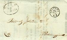761-ROMAGNE, FRANCHIGIA, DA FERRARA A PORTOMAGGIORE, 1860