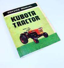 Heavy equipment manuals books for kubota ebay kubota l225 l225f l225t l225fa l225dt diesel tractor service manual d1100 a fandeluxe Gallery