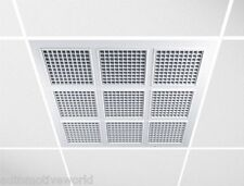 "Suspended Ceiling Tiles 595 mm x 595 mm 23.5"" Diffusers Panels Air Vent Grillon RP"