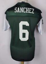 SANCHEZ #6 NEW YORK JETS AMERICAN FOOTBALL JERSEY YOUTHS XL NFL REEBOK RARE