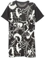 Rag & Bone Ivory & Black Liberty Floral Print Dress SZ L