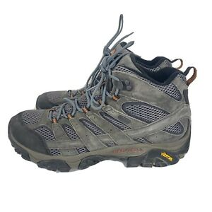 Merrell mens moab 2 MID WP granite hiking boots size 11