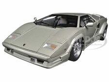 LAMBORGHINI COUNTACH 25TH ANNIVERSARY EDITION SILVER 1/18 MODEL BY AUTOART 74536