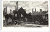 Vintage Postcard ~1920 England Great Britain Hampton Court Palace Vine Cottage
