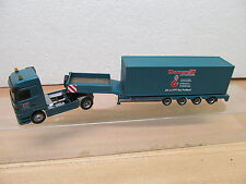 ENS51677 Albedo 1:87 Mercedes MB Actros Tieflader mit Containerladung Drornseiff