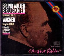 Bruno WALTER: BRUCKNER Symphony No.7 WAGNER Siegfried Idyll 2CD Made in Japan
