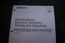 CATERPILLAR D10T Tractor Dozer Crawler POWER TRAIN Service Manual transmission