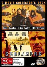 John Carpenter's Ghosts Of Mars / Screamers (DVD 2 Disc Set) RARE - FREE POST