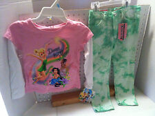 *GIRLS ONE STEP UP TODDLER JEANS 4 T & DISNEY SHIRT NWT*