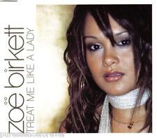 ZOE BIRKETT - Treat Me Like A Lady (UK 4 Tk Enh CD Single Pt 1)