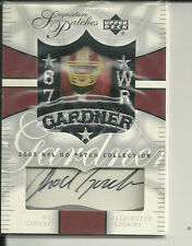 ROD GARDNER PATCH AUTO 2003 UD PATCH COLECTION